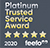 Platinum Trusted Service Awards 2020 Feefo
